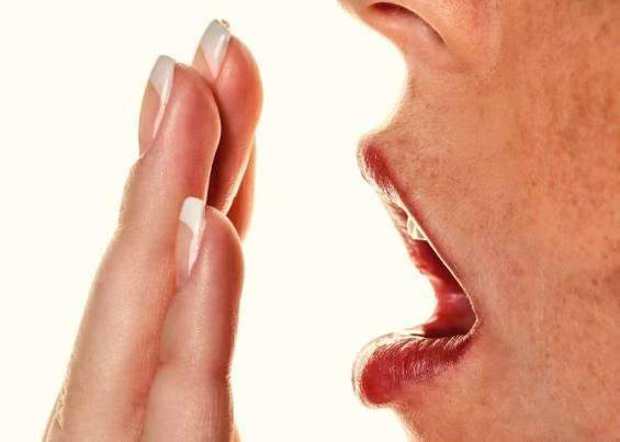 во рту неприятный запах