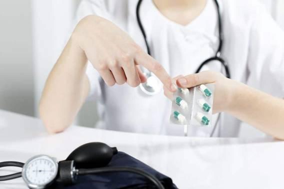 прием препаратов