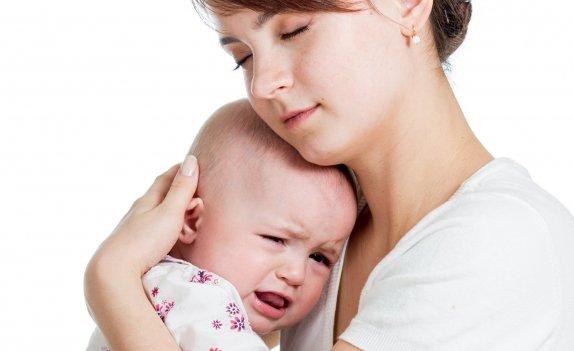 Плач у грудного ребенка